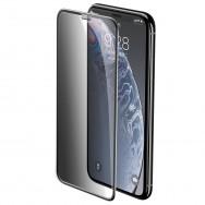 Защитное стекло Baseus Anti-spy (2шт) SGAPIPH58-CTG01 для iPhone X / iPhone Xs / iPhone 11 Pro