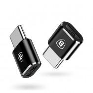 Разъем Baseus microUSB - USB Type-C (CAMOTG-01)