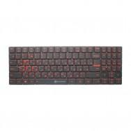 Клавиатура для Lenovo Legion Y520-15IKB - красная подсветка