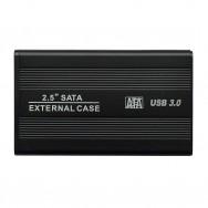"""Бокс для жесткого диска 2.5"""" - USB 3.0 алюминиевый (черный)"""