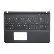 Топ-панель с клавиатурой для Sony Vaio SVF1521 черная