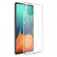 Чехол для Samsung Galaxy A51 SM-A515F силиконовый (прозрачный)