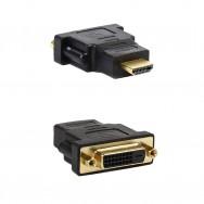 Переходник DVI-D (F) - HDMI (M) 25F Smartbuy черный