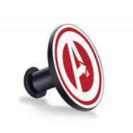 Кнопка-застежка для браслета Mi Band 4 / Mi Band 3 с эмблемой Avengers