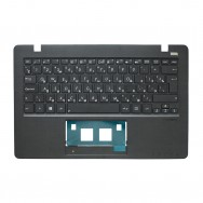 Топ-панель с клавиатурой для Asus X200 черная