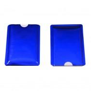 Чехол защитный для карты с RFID блокировкой, синий