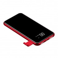 Внешний аккумулятор Baseus full screen bracket wireless charge Power Bank 8000mAh (PPALL-EX01) красный
