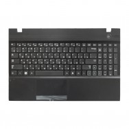 Топ-панель с клавиатурой для Samsung NP305V5A черная