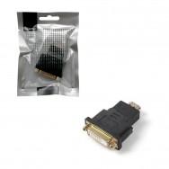 Переходник DVI-I (F) - HDMI (M) 25F Smartbuy черный