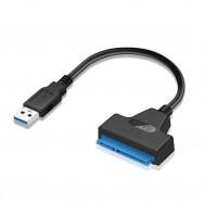 Адаптер-переходник USB 3.0 - SATA lll (7+15 pin) для HDD/SSD