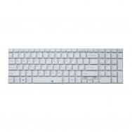 Клавиатура для Sony Vaio SVF1521 белая с подсветкой