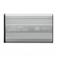 "Бокс для жесткого диска 2.5"" - USB 3.0 алюминиевый (серебро)"