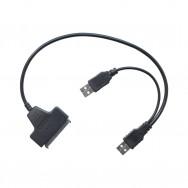 """Адаптер-переходник USB - SATA 7+15 pin для HDD 3.5"""""""