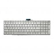 Клавиатура для HP Pavilion 17-ab200 серебристая с подсветкой