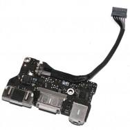 Плата питания I/O Power Board 820-3455-A Macbook Air 13 A1466 2013-2015