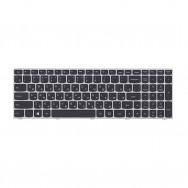 Клавиатура для Lenovo G50-80 серая рамка