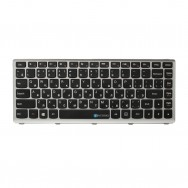 Клавиатура для Lenovo IdeaPad S405 (серая рамка)