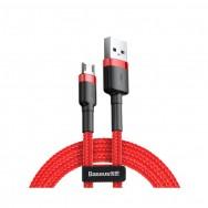 Кабель Baseus Cafule USB - microUSB (CAMKLF) 2 м - красный
