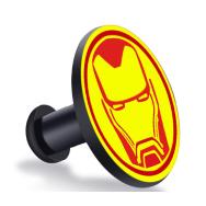 Кнопка-застежка для браслета Mi Band 4 / Mi Band 3 с эмблемой Железного Человека
