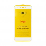 Защитное стекло Xiaomi Redmi Note 4X - белое (упаковка 10 штук)