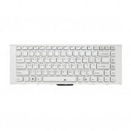 Клавиатура для Sony Vaio VPC-EA белая