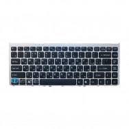 Клавиатура для SONY VAIO VGN-FW 190NEH серая рамка
