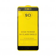 Защитное стекло Xiaomi Redmi Note 4X - черное
