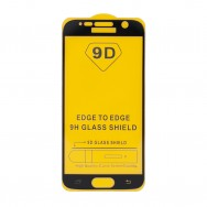 Защитное стекло Samsung Galaxy S6 SM-G920F / S7 SM-G930FD/F черное