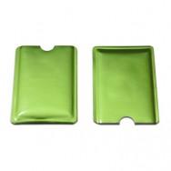 Чехол защитный для карты с RFID блокировкой, салатовый