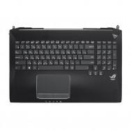 Топ-панель с клавиатурой для Asus ROG G750J с подсветкой