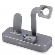 Док-станция COTEetCI Base29 CS7211 для Apple Watch, iPhone, AirPods (Space Grey)