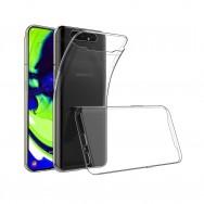 Чехол для Samsung Galaxy A80 SM-A805F / A90 SM-A905F силиконовый (прозрачный)
