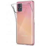 Чехол для Samsung Galaxy A31 SM-A315F силиконовый (прозрачный)