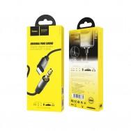 Аудио кабель Lightning - AUX 3.5mm jack черный (HOCO UPA13)