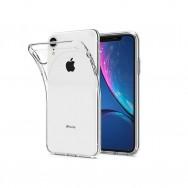 Чехол для iPhone XR силиконовый (прозрачный)