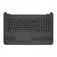Топ-панель с клавиатурой для HP 15-af000 черная
