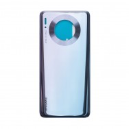 Задняя крышка для Huawei Mate 30 - серебристая