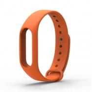 Браслет для Mi Band 2 оранжевый