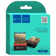 Wi-Fi Адаптер USB 2.0, 150 Mb/S W01 Dream