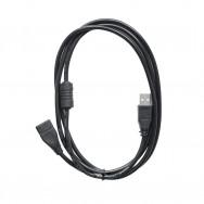 Кабель-удлинитель USB A(m) - USB A(f) 1.5m Dream черный
