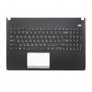 Топ-панель с клавиатурой для Asus X501A черная