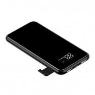 Внешний аккумулятор Baseus full screen bracket wireless charge Power Bank 8000mAh (PPALL-EX01) черный