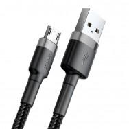 Кабель Baseus Cafule USB - microUSB (CAMKLF) 1 м - черный