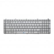 Клавиатура для Asus N75S серебристая