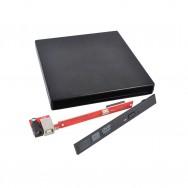 Внешний корпус для DVD CD-ROM USB 2.0 черный