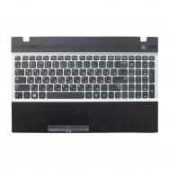 Топ-панель с клавиатурой для Samsung NP305V5A черно-серая