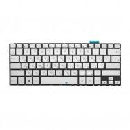 Клавиатура для Asus ZenBook Flip UX360CA серебристая