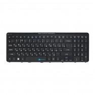 Клавиатура для Acer Aspire V5-571G черная рамка (с подсветкой)