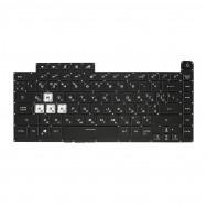 Клавиатура для Asus ROG Strix G531GV с RGB подсветкой (4-ZONE)