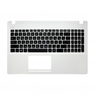 Топ-панель с клавиатурой для Asus X551M белая